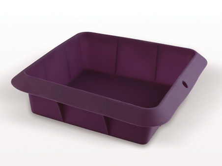 Fuente de silicona para lasa a horno y microondas - Silicona para microondas ...
