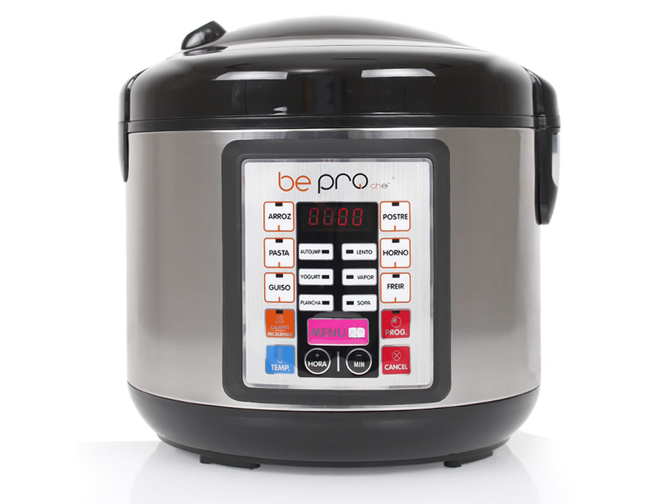 be pro chef premier plus robot de cocina programable sin