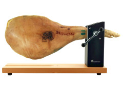 jamonero-giratorio-volante-profesional-pared-basculante-madera-acero-inoxidable-masterpro-bergner